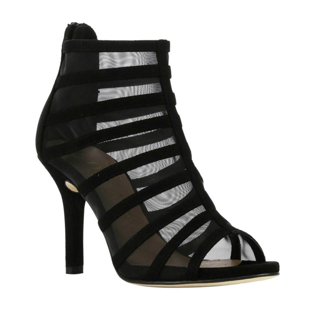 Unisa sandalettes zwart, Zwart