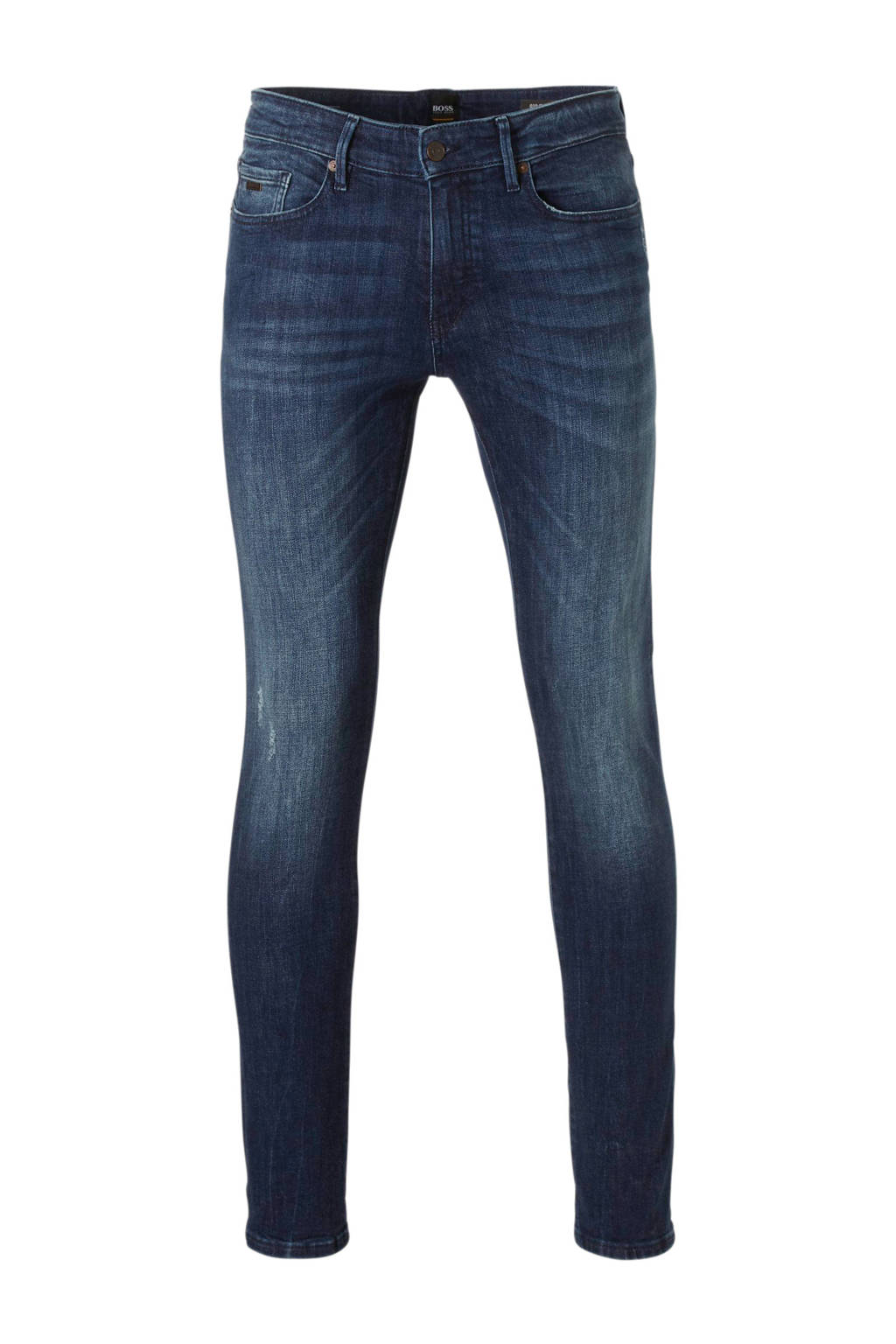 Boss Casual slim fit jeans extra, Dark denim
