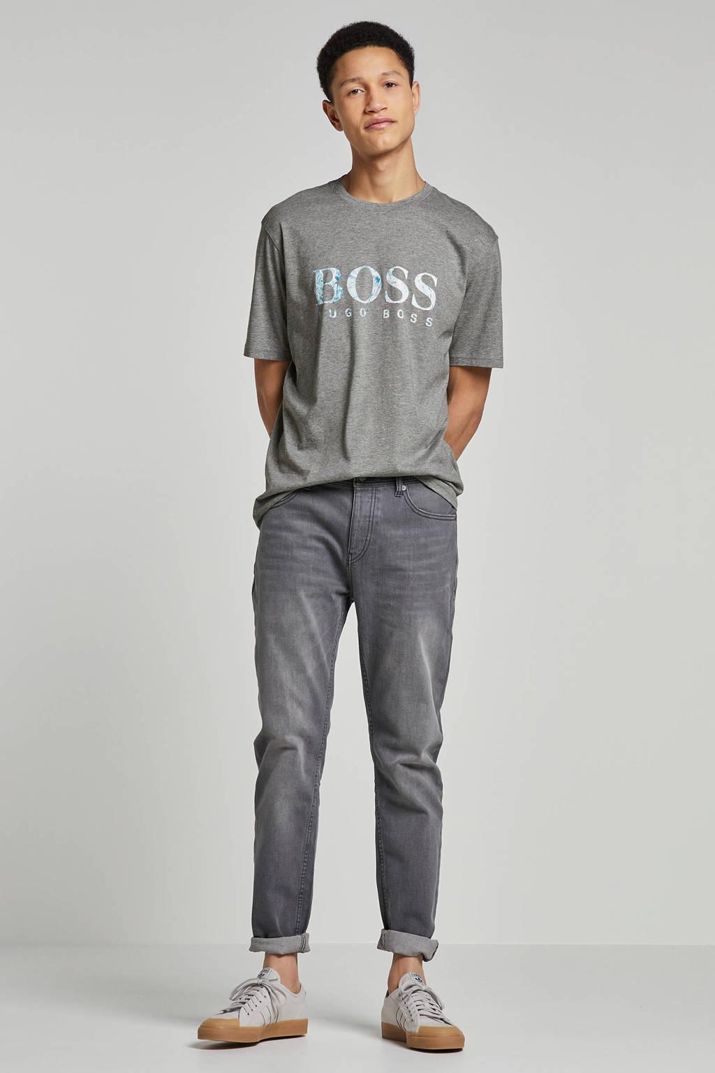 Boss Casual t-shirt, Grijs