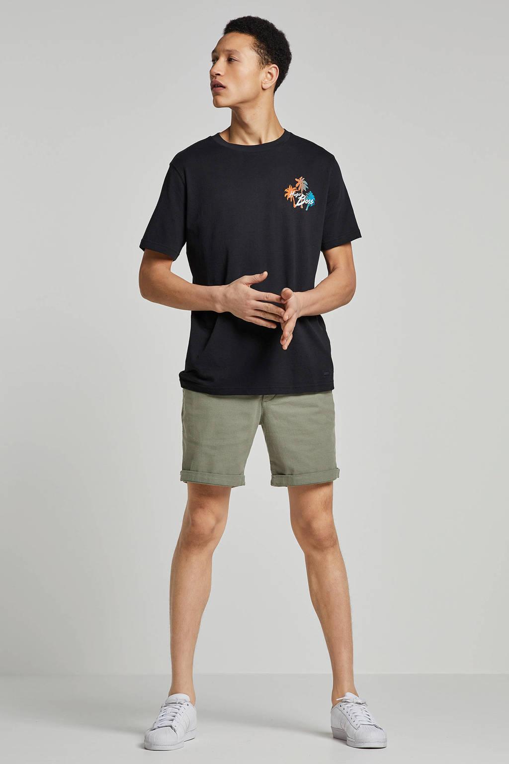 Boss Casual t-shirt, Zwart