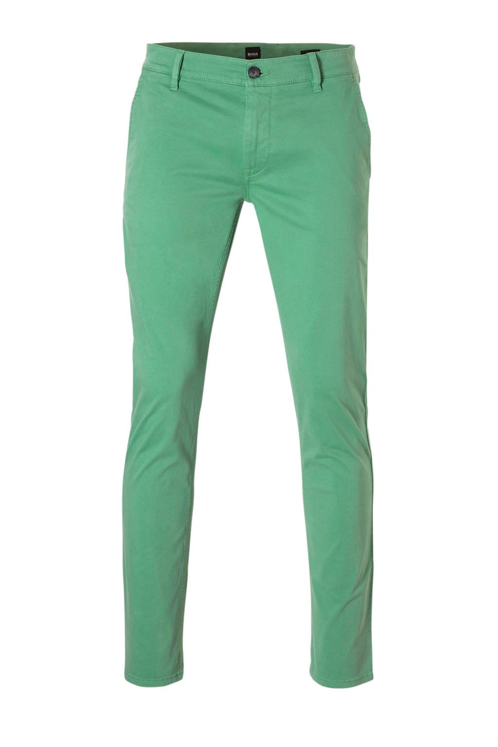 Boss Casual slim fit chino, Open Green