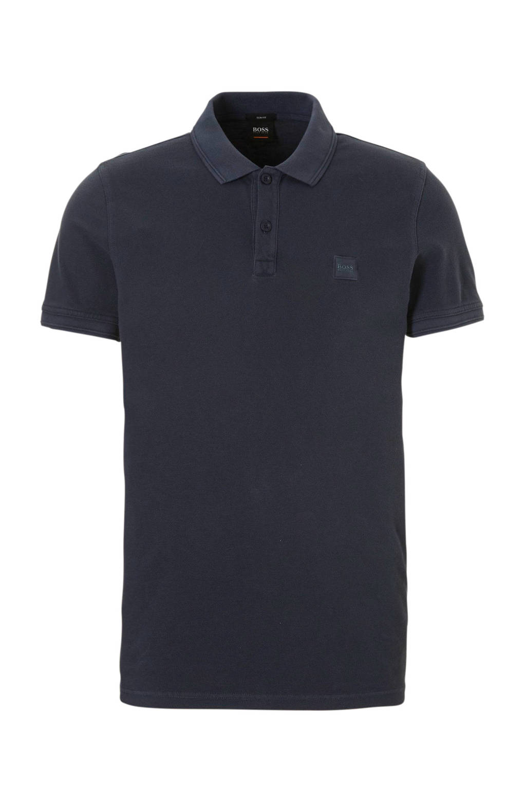 Boss Casual polo, Donkerblauw