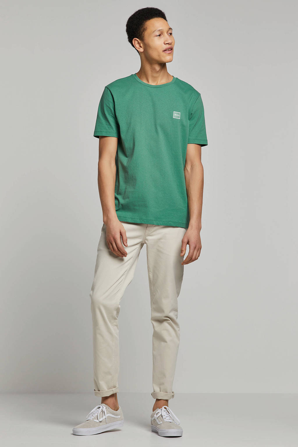 Boss Casual T-shirt, Groen