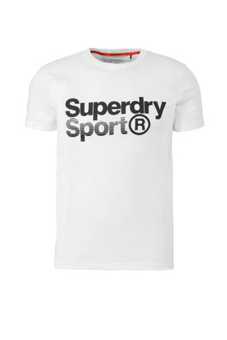 Sport   sport T-shirt met printopdruk wit