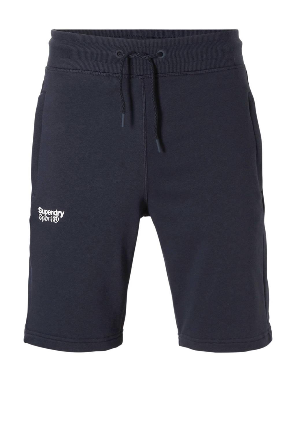 Superdry Sport   short, Donkerblauw