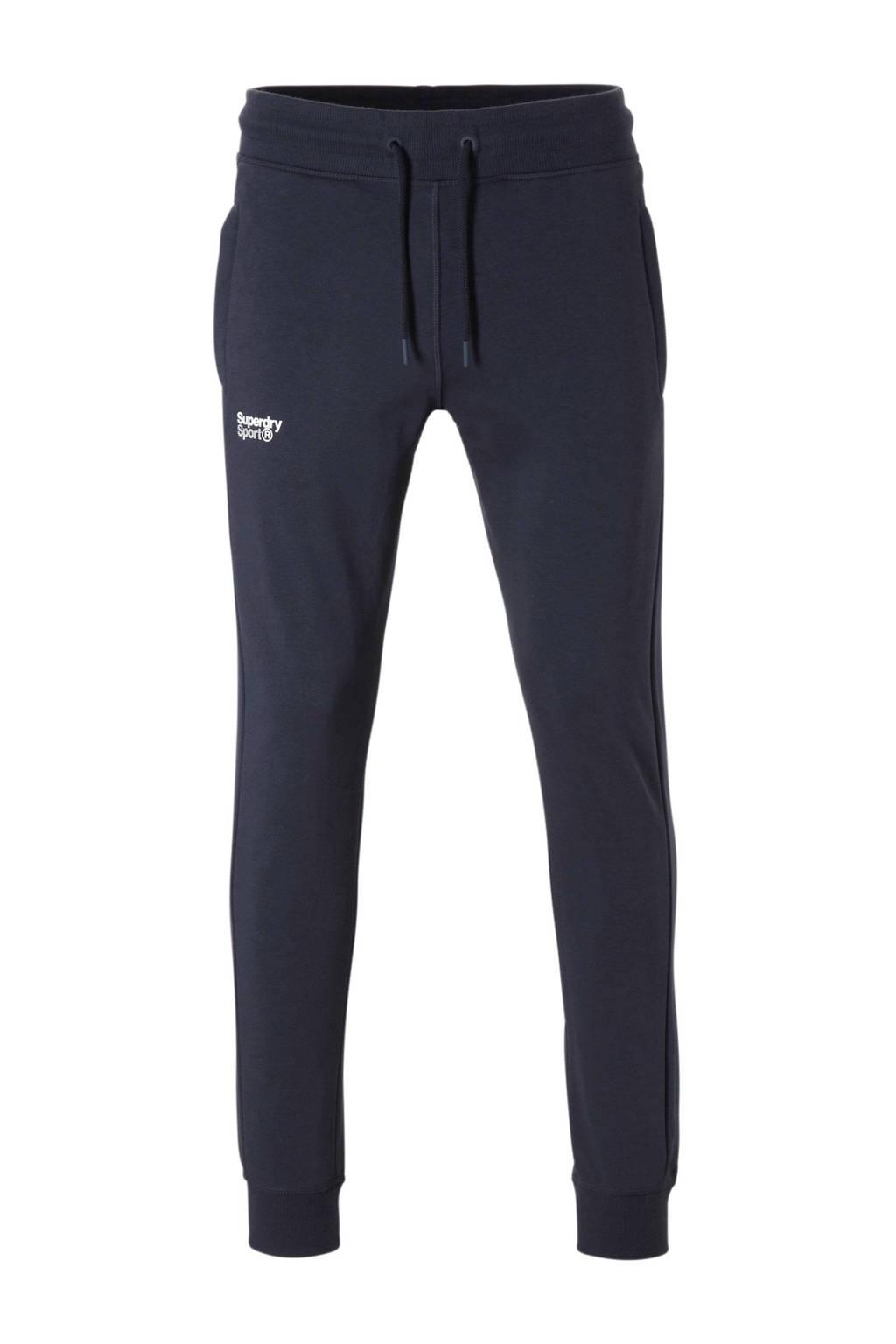 Superdry Sport joggingbroek donkerblauw, Donkerblauw