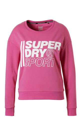 Sport sportsweater roze