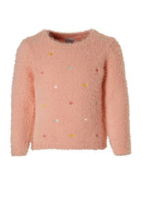 C&A Palomino harige trui met sterren zalm (meisjes)