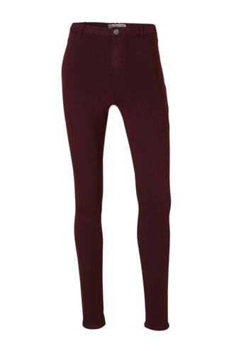 Clockhouse skinny fit jegging Bordeaux