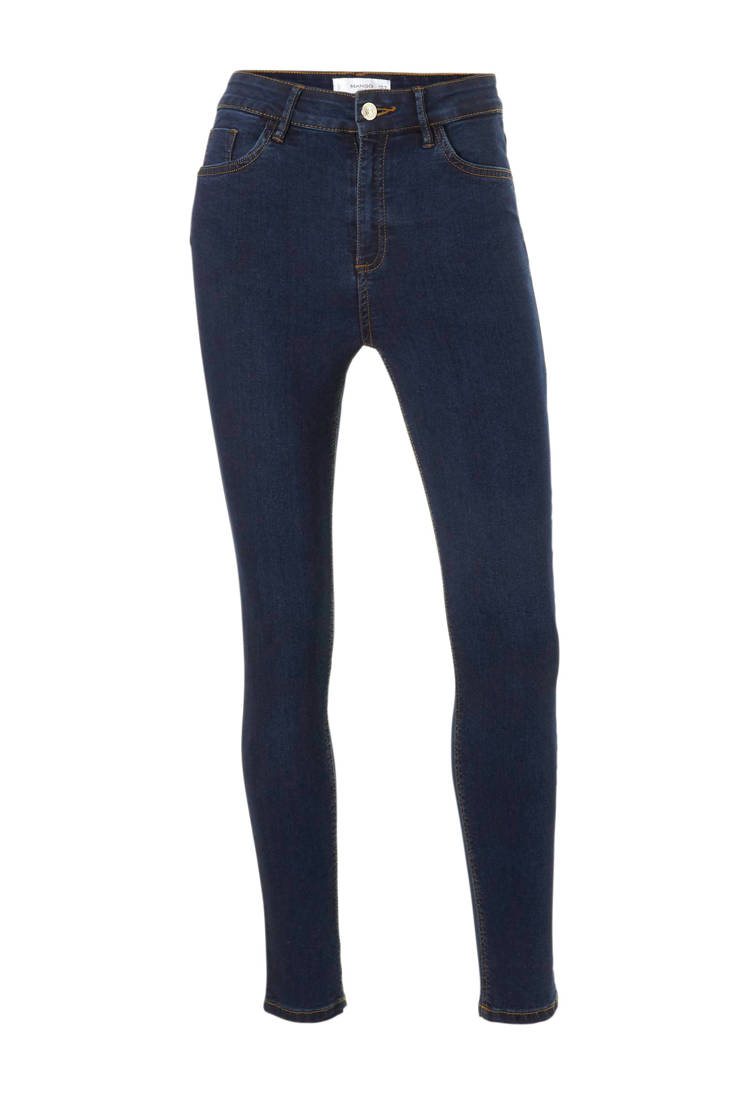 Mango 8 donker 7 blauw jeans skinny rrY0waq