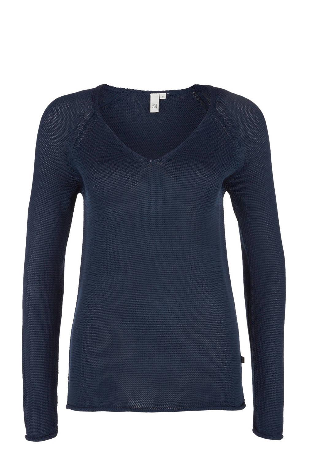 Q/S designed by trui blauw, Donkerblauw