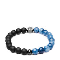 Sem Lewis armband SL220010-L, Blauw, zwart