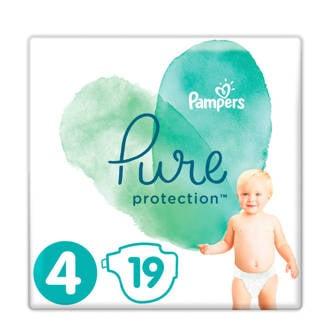 Pure Protection maat 4 (9-14 kg) 19 luiers