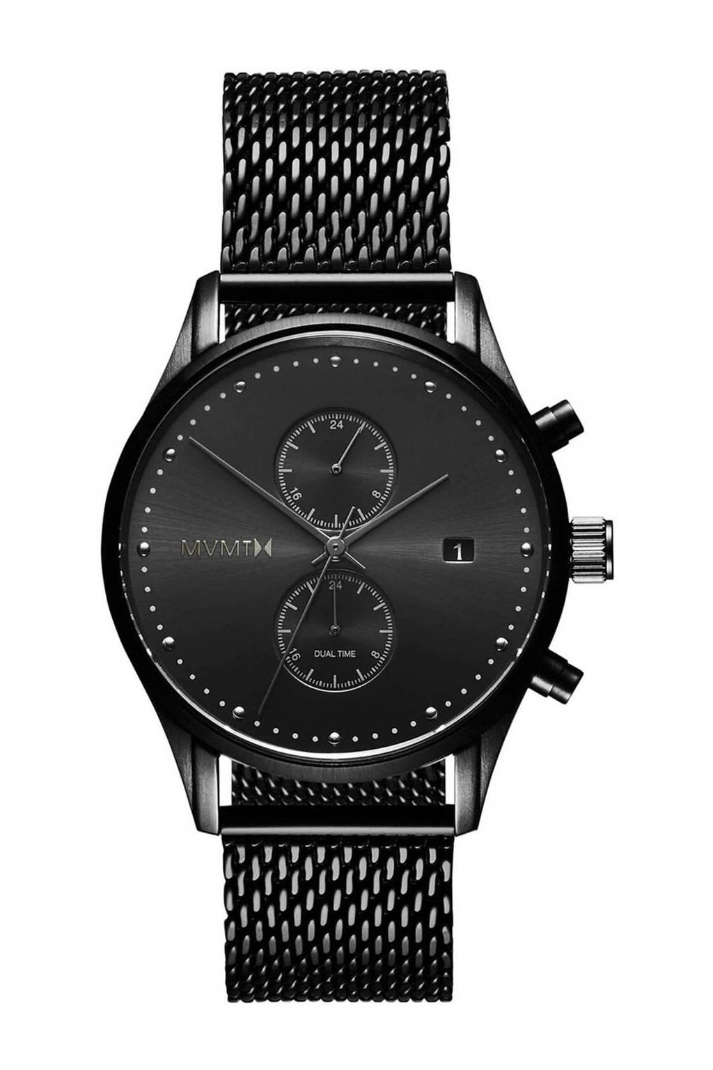 MVMT Voyager Slate horloge D-MV01-BL2, Zwart