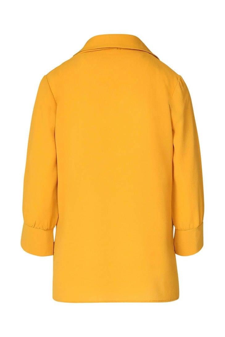 fijn Cassis geel geweven geweven Cassis geweven fijn Cassis blouse fijn geel blouse YwqqU