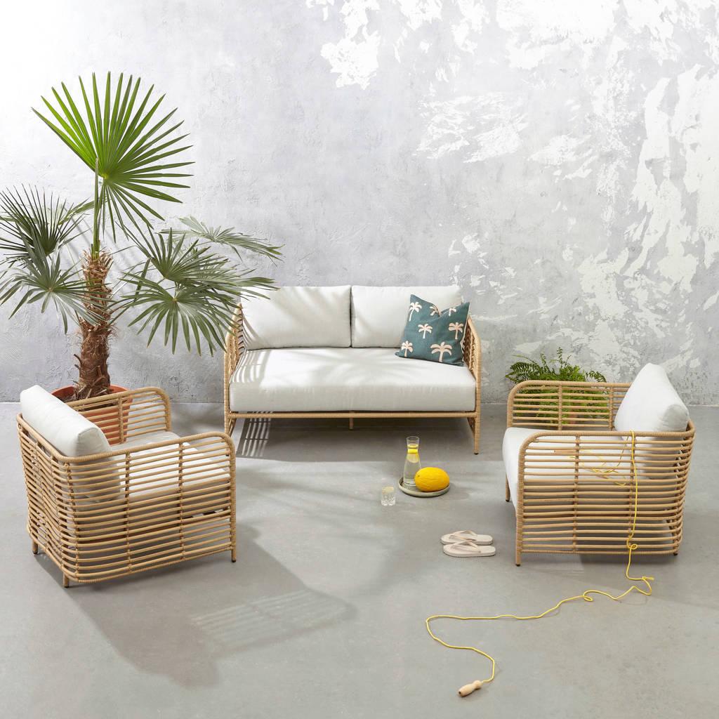 whkmp's own loungeset Sienna, Naturel/lichtgrijs