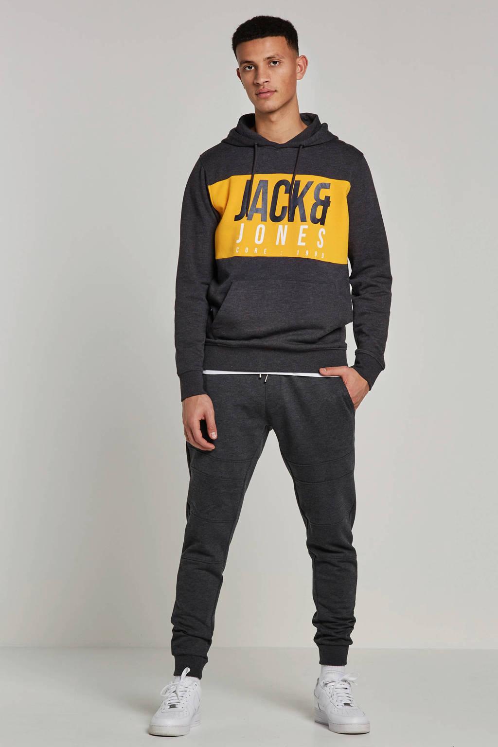 Jack & Jones Core hoodie, Grijs melange