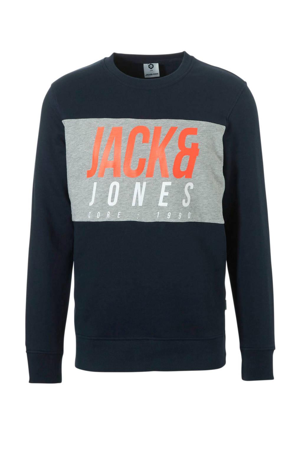 JACK & JONES CORE sweater, Donkerblauw