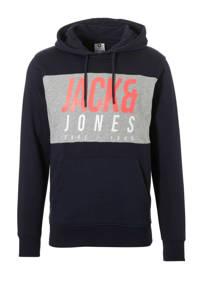 JACK & JONES CORE hoodie, Donkerblauw