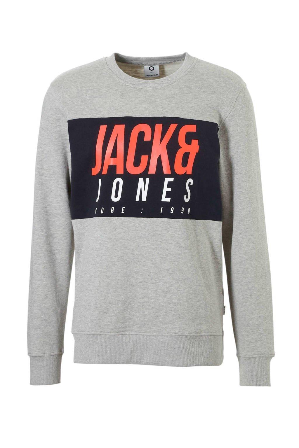 Jack & Jones Core sweater, Lichtgrijs