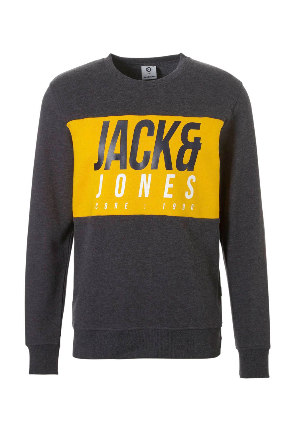 Jack & Jones Core sweater, Grijs melange