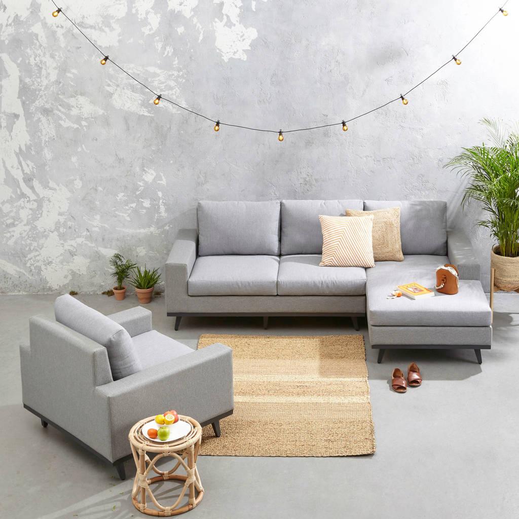 whkmp's own loungeset rechts Torino, Grijs/antraciet