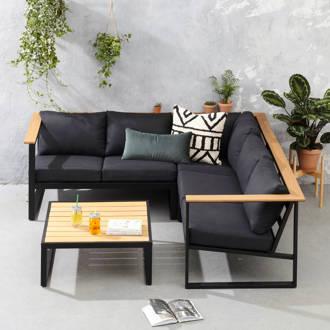 Luxe Loungeset Zwart.Loungesets Bij Wehkamp Gratis Bezorging Vanaf 20