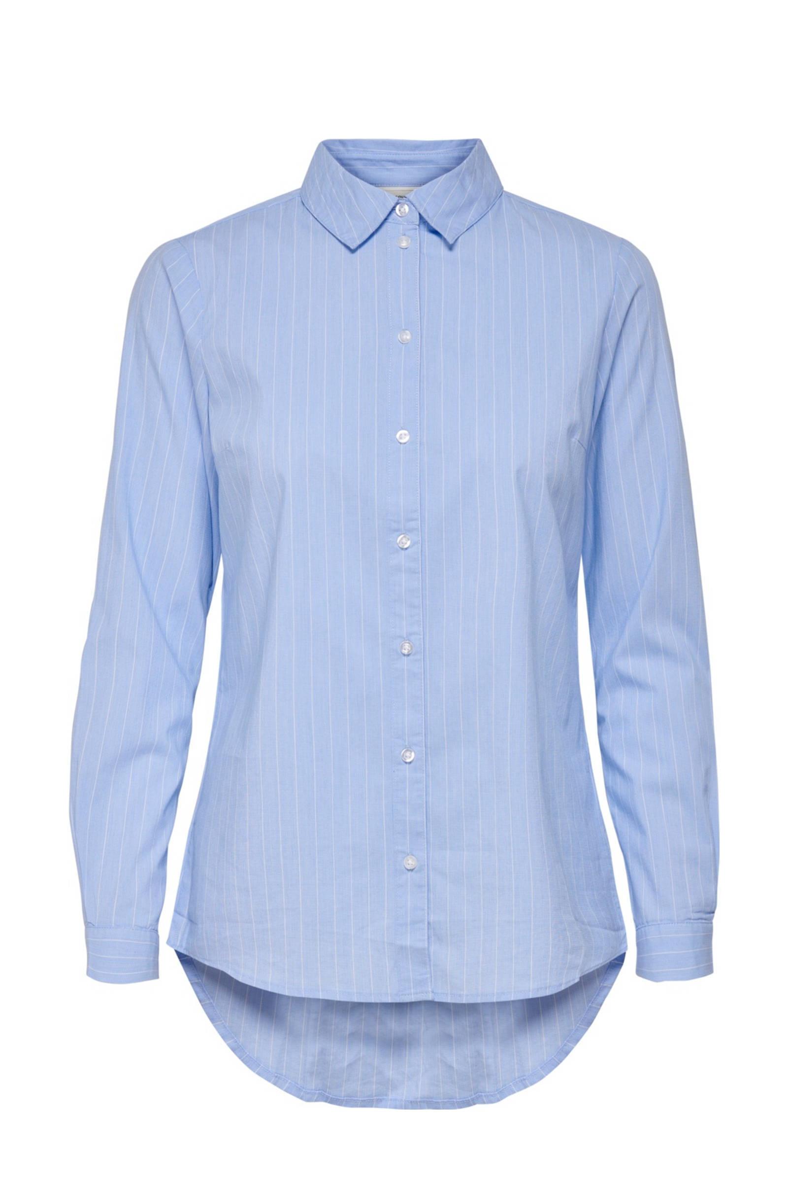 JACQUELINE blauw YONG DE DE blouse JACQUELINE aY4Fpvg8