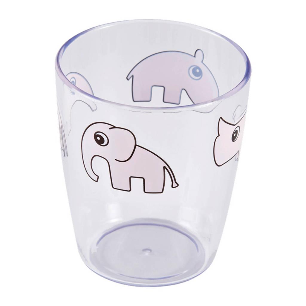 Done by Deer mini-glas Deer friends, Roze