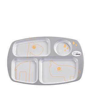 compartimenten bord grijs