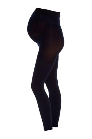 zwangerschapslegging 80 denier marine