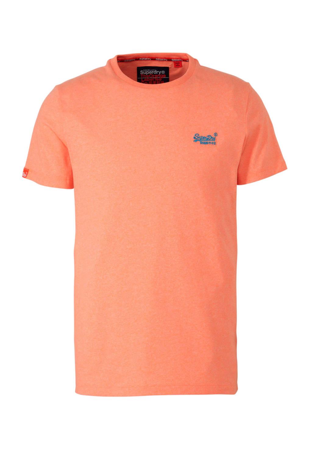 Superdry T-shirt oranje, Oranje