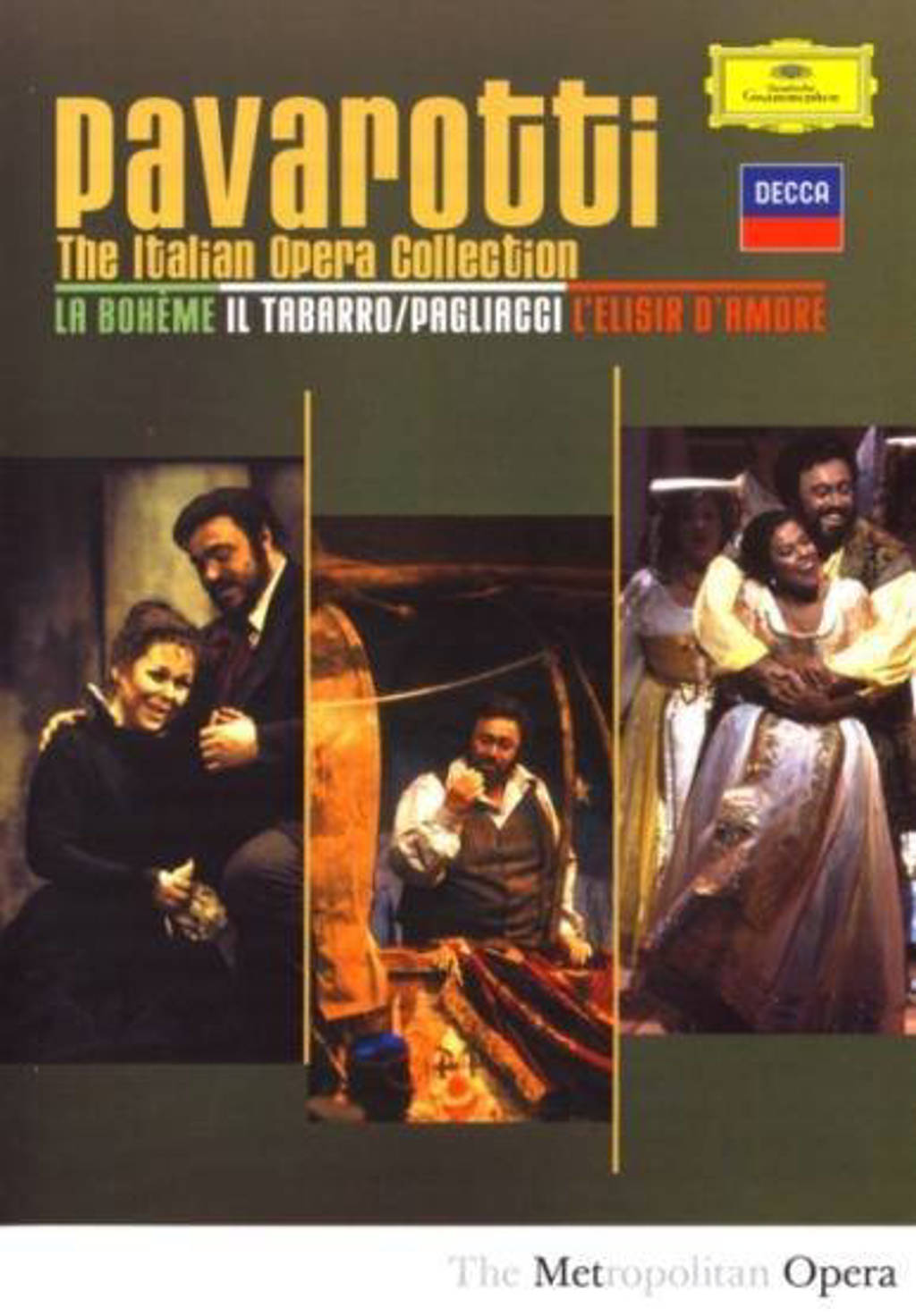 Luciano Pavarotti - The Italian opera collection (DVD)