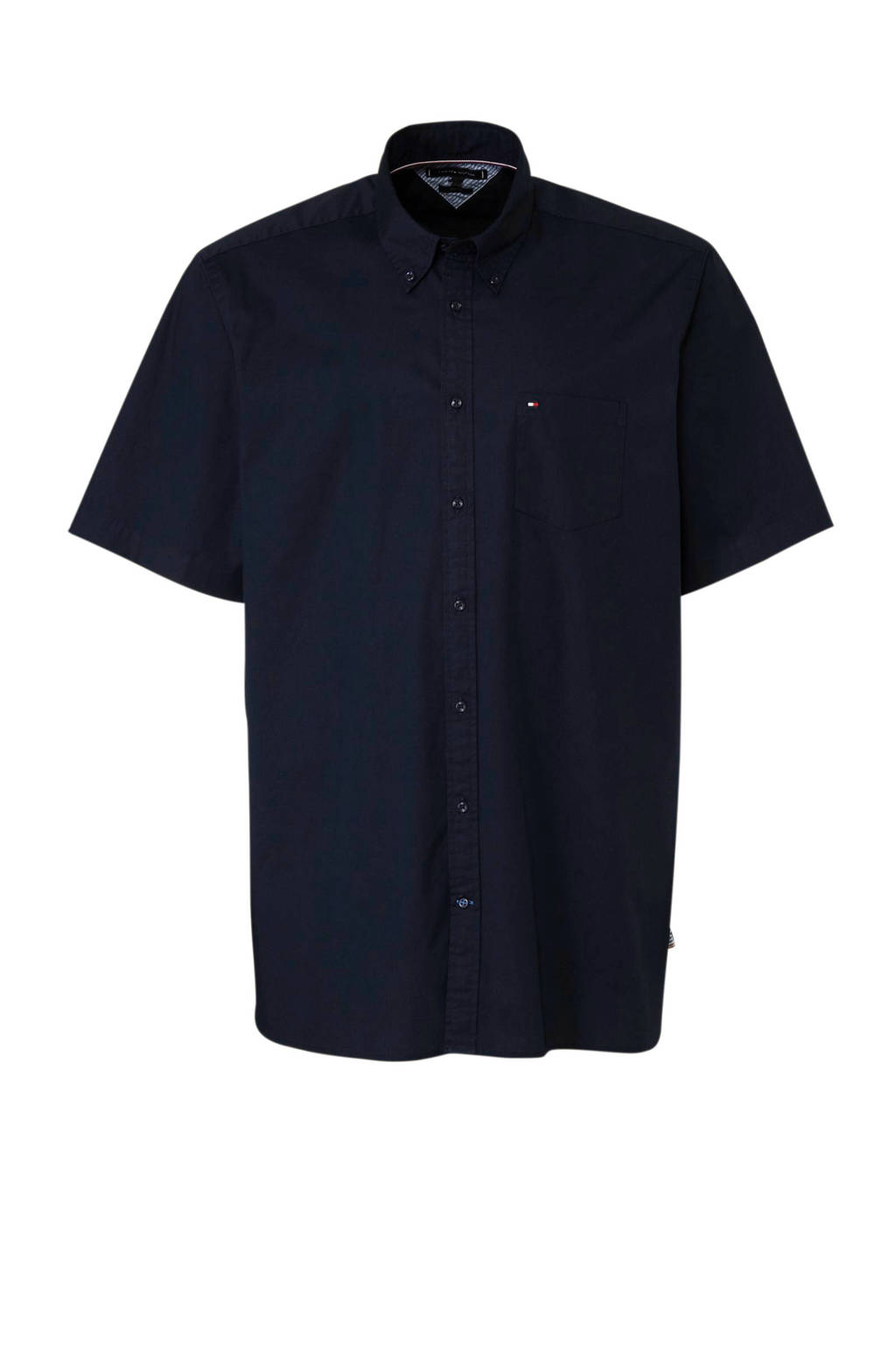 Tommy Hilfiger Big & Tall +size regular fit overhemd, Donkerblauw
