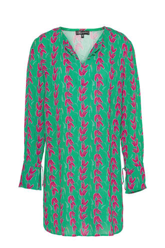 tuniek met all over print groen