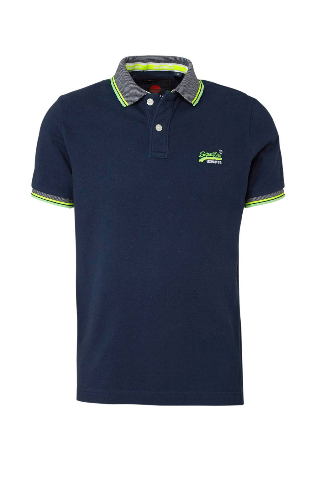 Superdry polo, Donkerblauw