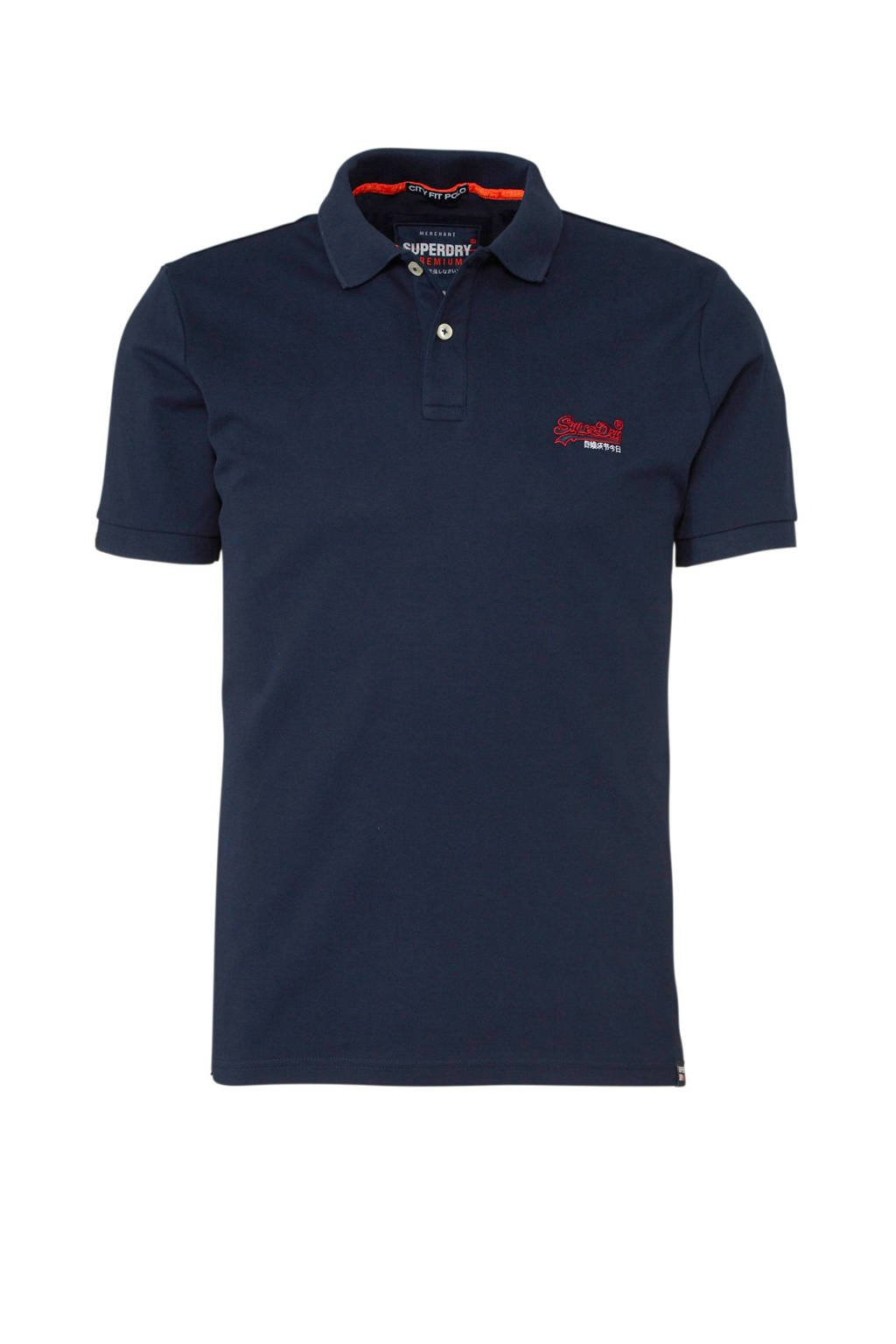 Superdry polo, Blauw