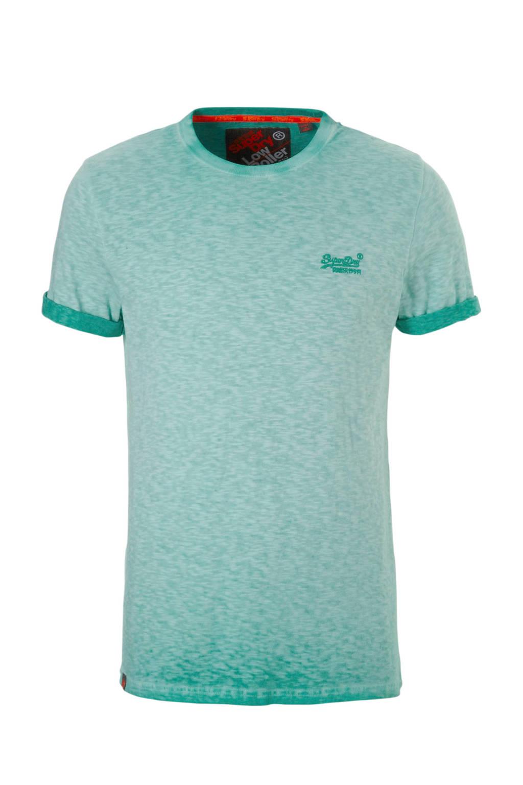 Superdry T-shirt, Groen