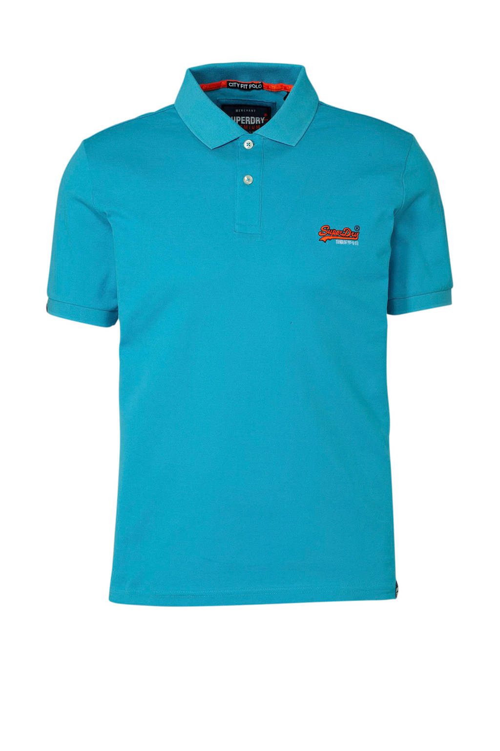 Superdry polo, Turquoise