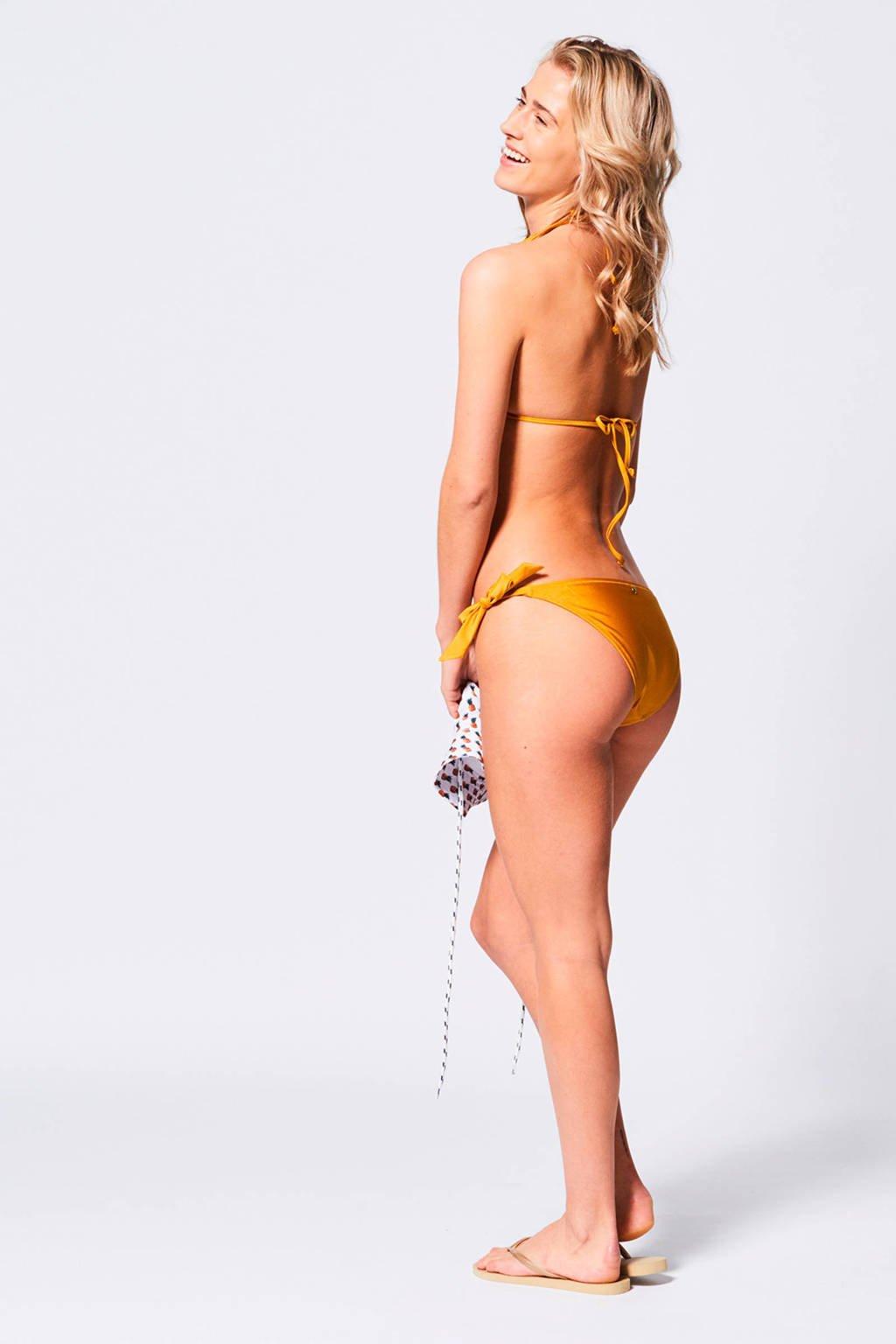 Okergeel Broekje Ariel Bikini Todaystrik America waxzB1Ta