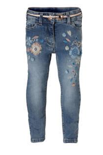 C&A Palomino skinny jeans met geborduurde bloemen (meisjes)
