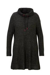 C&A XL Yessica jurk met col zwart