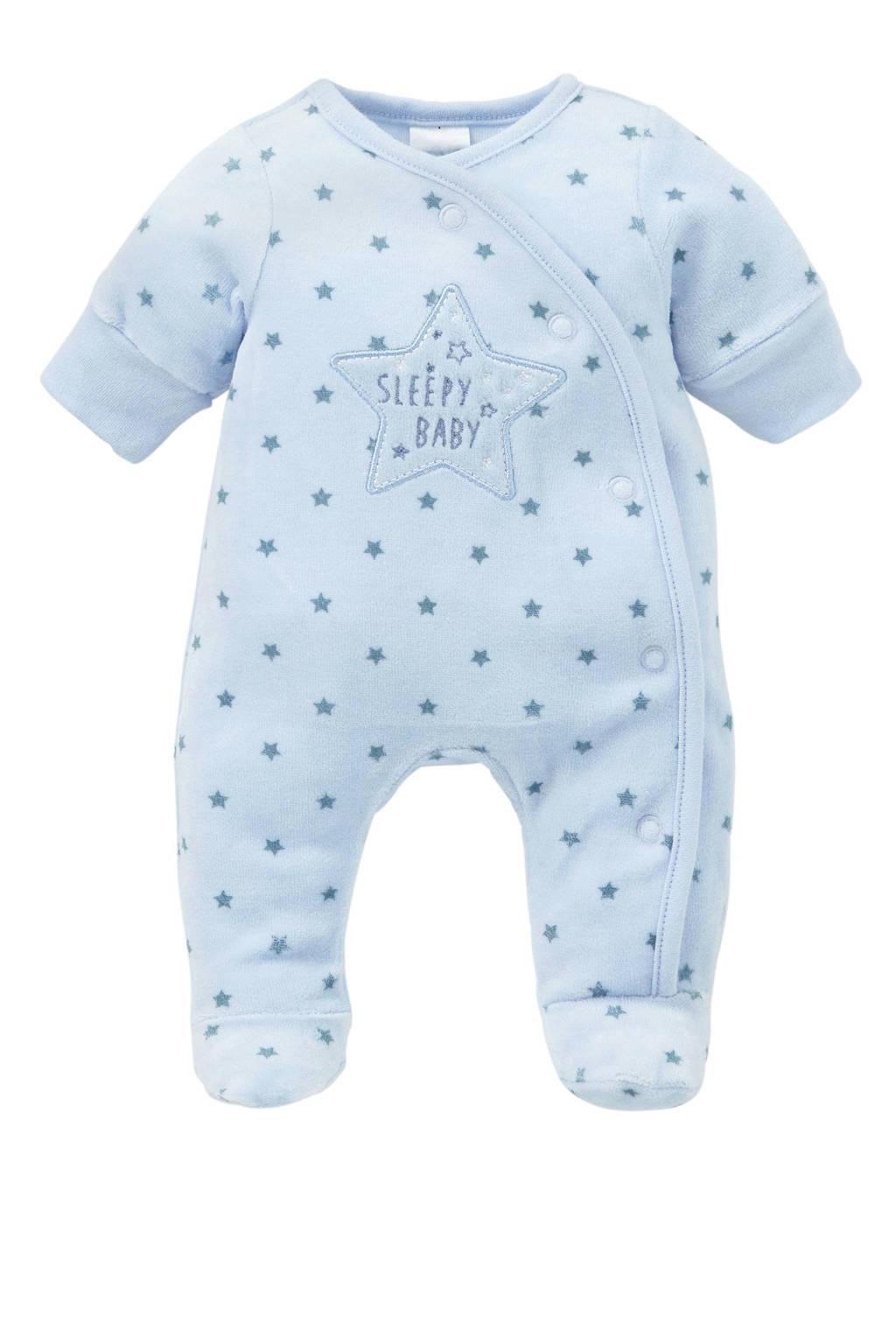 C&A Baby Club   newborn baby pyjama, Lichtblauw