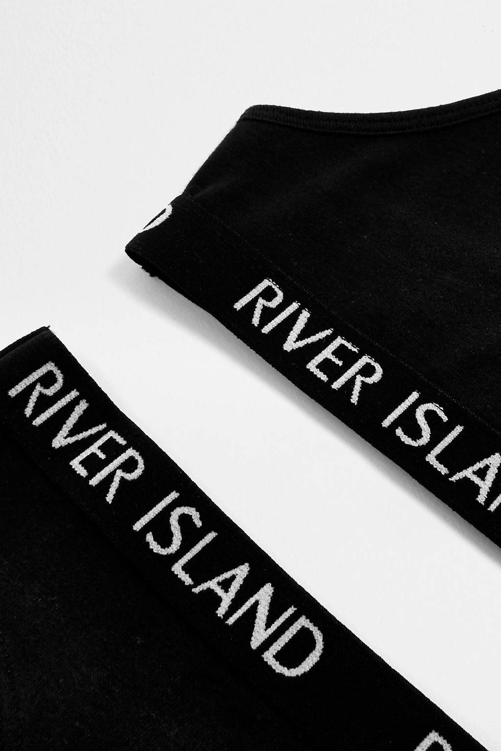 River Island 820072, Zwart