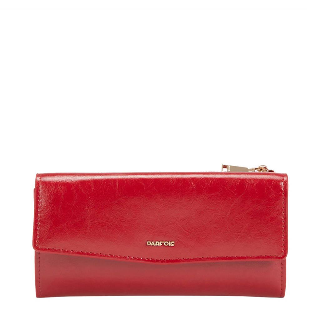 Parfois portemonnee rood, Rood