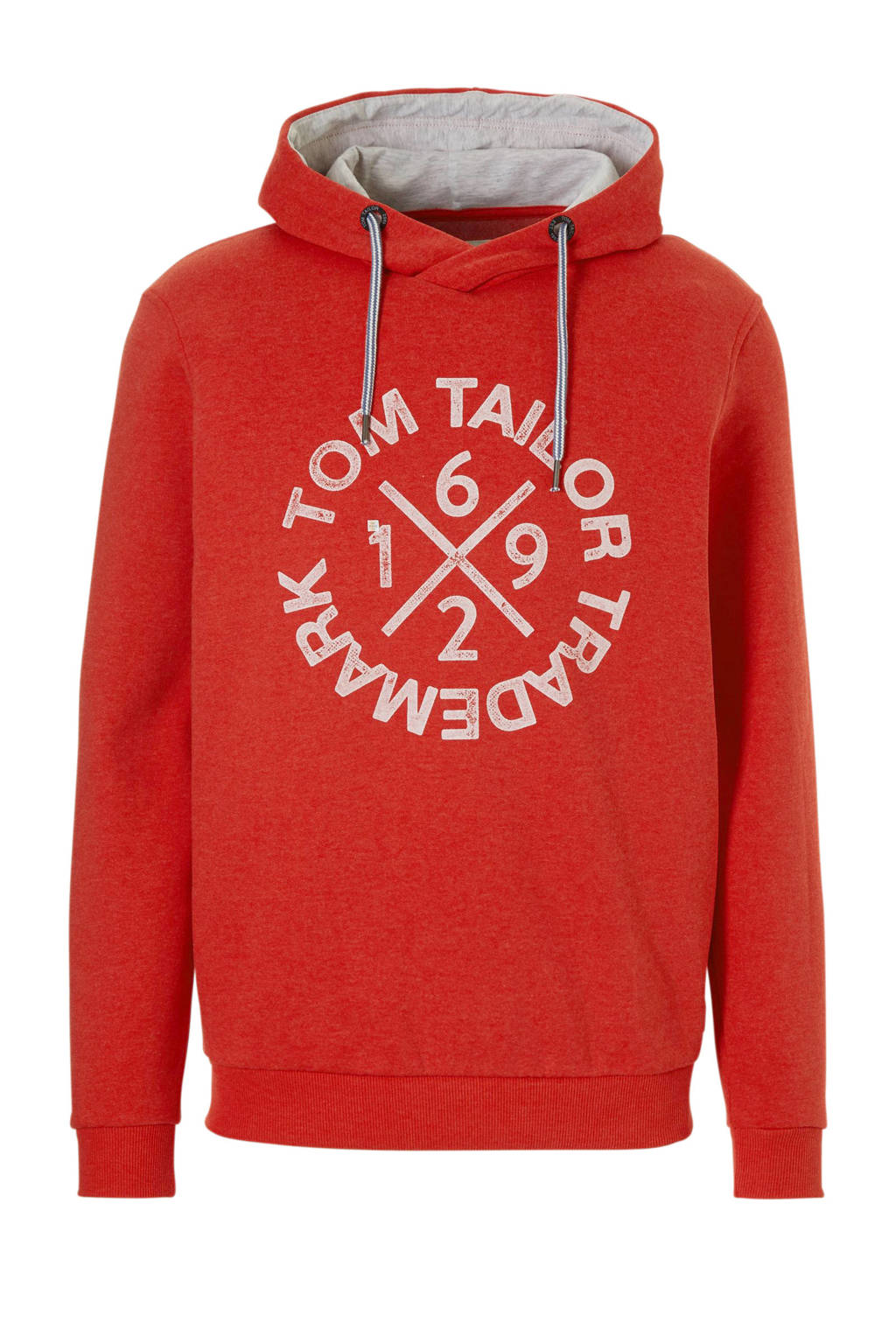 Tom Tailor hoodie, Rood
