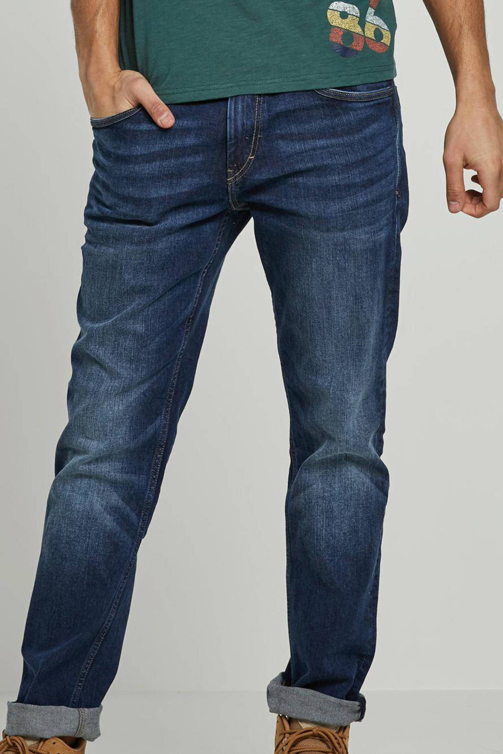 Tom Tailor regular fit jeans Josh blauw, Blauw