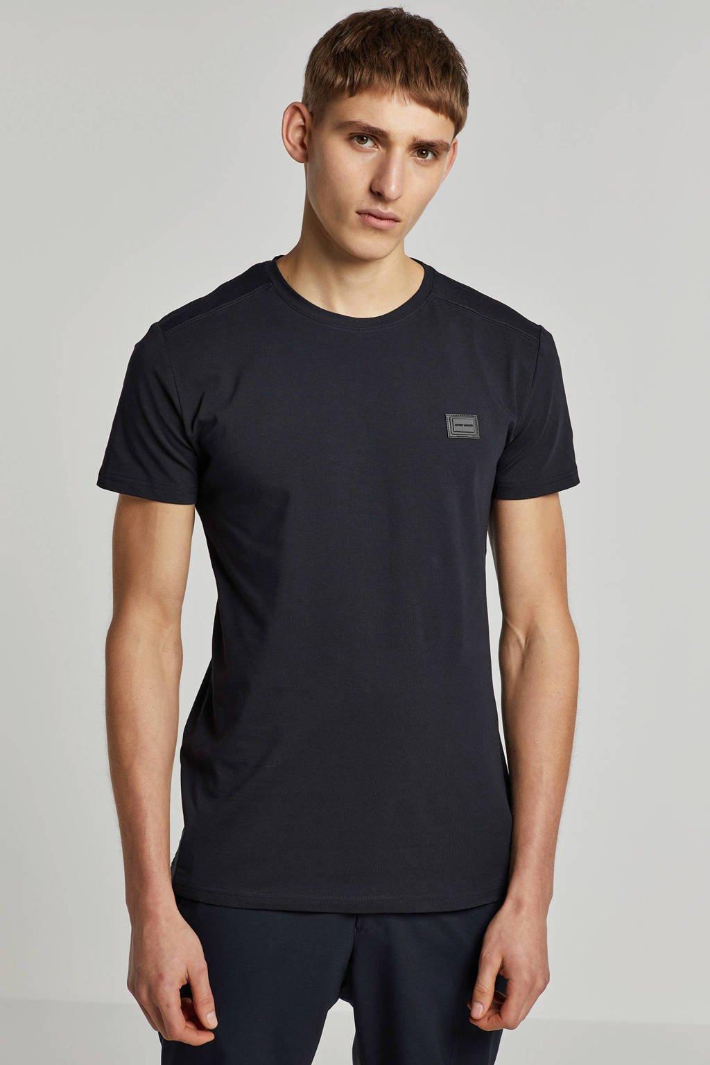 Antony Morato T-shirt met logo marine, Marine