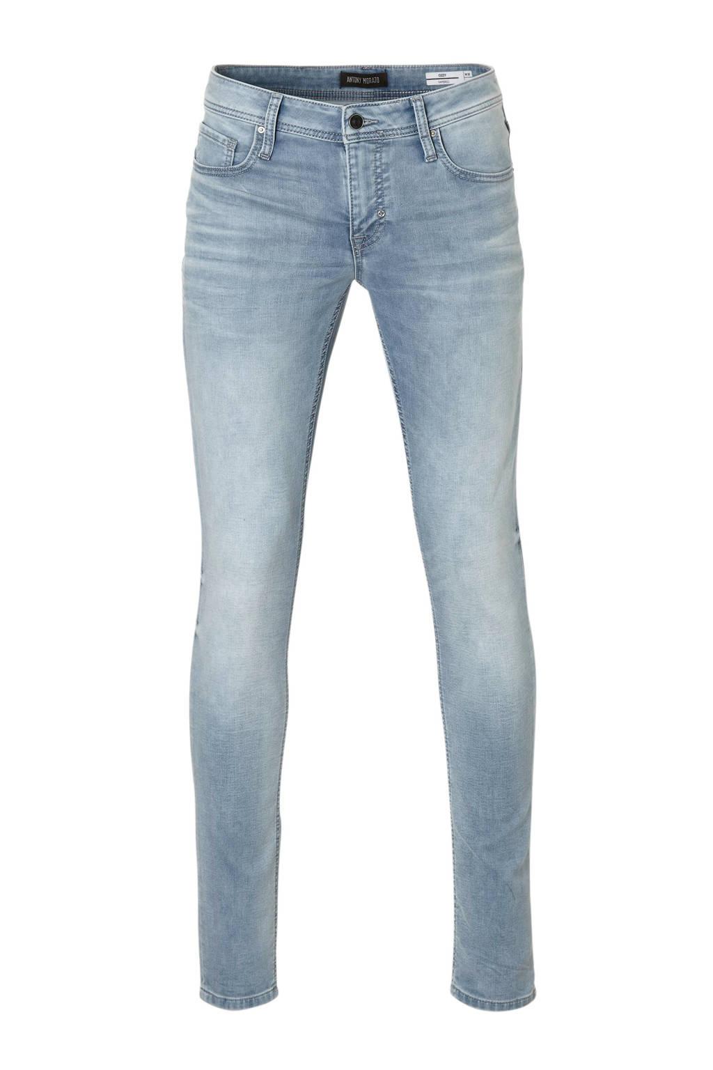 Antony Morato tapered fit jeans Ozzy Flag, Light denim