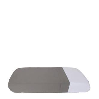 wieglaken grijs 80x110cm